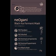 neOgani Black Rice Ferment Mask 黑米發酵面膜 27g x 10片