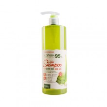 Organia Good nature Aloe Vera 95% Hiar Shampoo 蘆薈洗頭水 500g