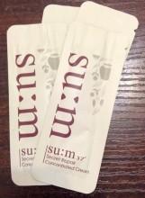 SU:M37 Secret Repair Concentrated Cream 魔法修復濃縮面霜 1ml