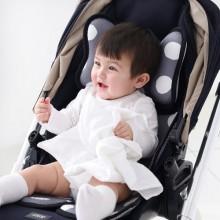 韓國Borny Air Liner 嬰兒車透氣網布坐墊-Grey Big Spot