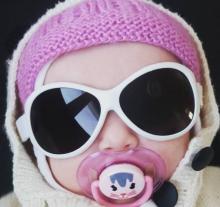 Baby Banz Retro Oval Baby Sunglasses 兒童復古護眼太陽鏡