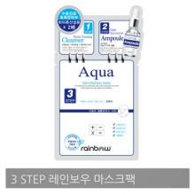RAINBOW Aqua Skin Renewal Mask 彩虹3部曲玻尿酸面膜 25g x 10