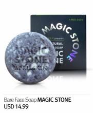 April Skin Magic Stone 100%天然手工洗面皂魔法石 100g (夜用)