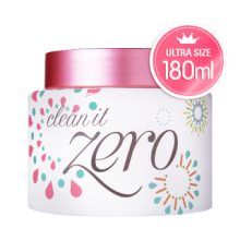 Banila Co Clean It Zero Makeup Remover Cream 皇牌卸妝乳- 粉红色 180ml 加大裝