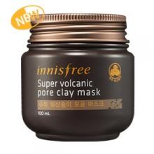 Innisfree Super Volcanic Pore Clay Mask 濟洲火山泥控油收毛孔清潔面膜(加強版) 100ml NEW!!